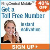 RingCentral 40% off 3 months