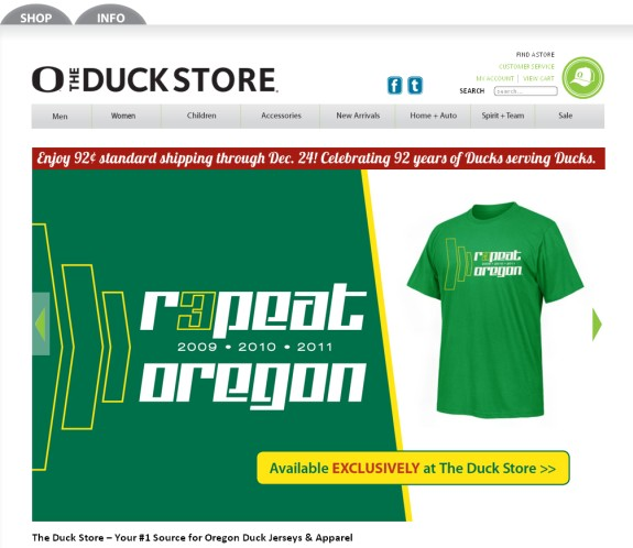 oregon ducks store